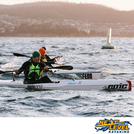 Next Level Kayaking's Triads Group Training System Hobart Tasmania