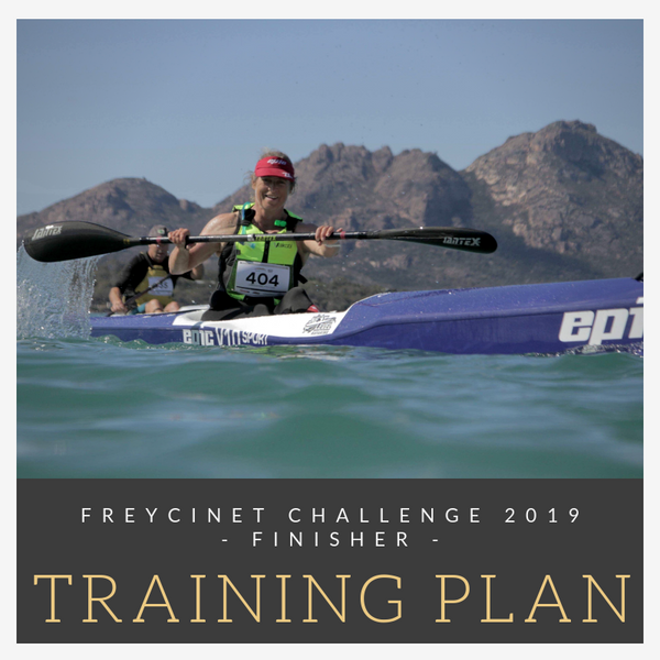 Next Level Kayaking Hobart Tasmania Australia Freycinet Challenge paddling finisher training plan