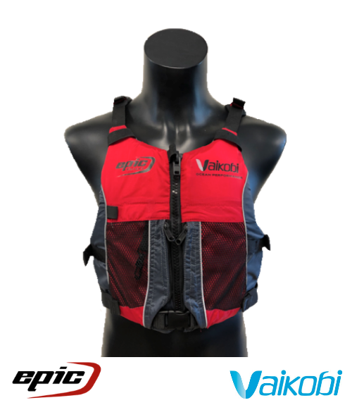 Vaikobi - Epic V3 High Vis Ocean Racing PFD - Red