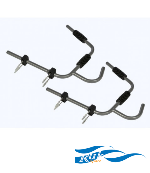 Ruk Folding Boat and Paddle Wall Rack