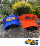 NLK Logo Visor - Next Level Kayaking - Hobart Australia Tasmania Coaching Paddling High Vis