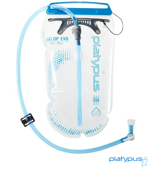 Platypus Big Zip Evo 1.5L Hydration Reservoir - Next Level Kayaking - Hobart Tasmania Australia Paddling Coaching Shop