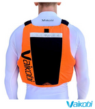 Vaikobi VXP Race PFD - Fluro Orange/Black - Next Level Kayaking - Hobart Tasmania Australia Paddling Coaching Shop