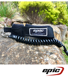 Epic Leg Leash - Black - Next Level Kayaking - Hobart Tasmania Australia Paddling Coaching Safety Shop
