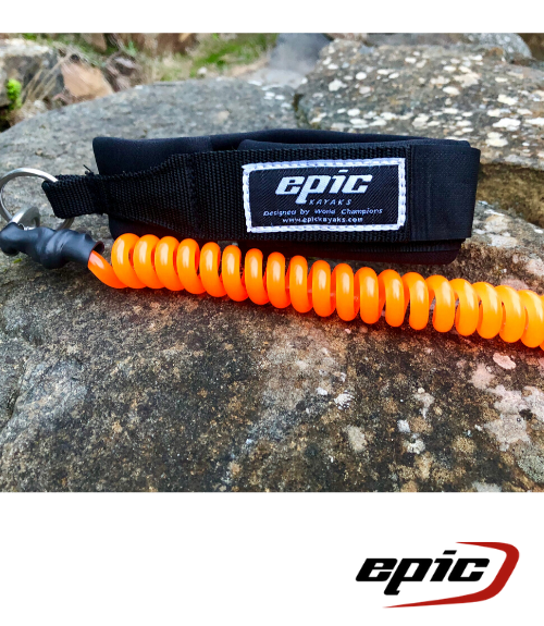 Epic Leg Leash - Orange