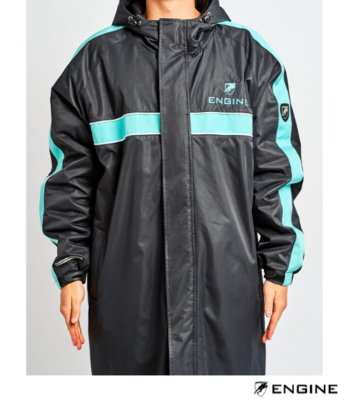 Engine Fleece Lined Deck Parka - Teal