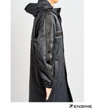 Engine Fleece Lined Deck Parka - Black