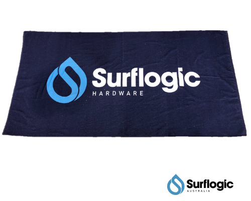 Surflogic Quick Dry Beach Towel - Blue - Next Level Kayaking  - Hobart Tasmania Australia Paddling Coaching  Shop