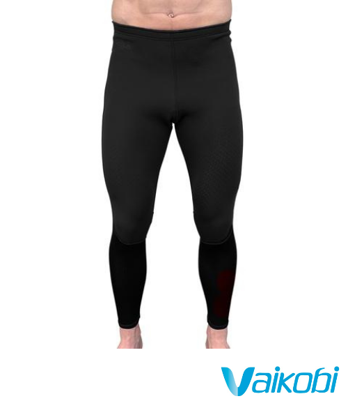 Vaikobi V COLD FLEX PADDLE PANTS - Stealth Black - Hobart Tasmania Australia Paddling Coaching Shop