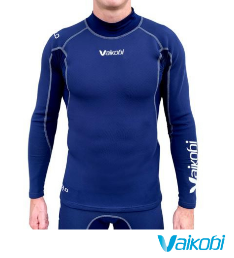 Vaikobi V COLD FLEX L/S TOP - NAVY
