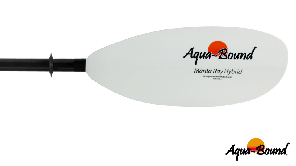 Aqua-Bound Manta Ray Hybrid 2-Piece Posi-Lok 210cm Paddle