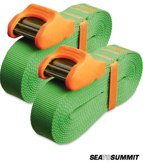 Sea To Summit Tie Downs W/ Silicone Cam Cover - 4.5m