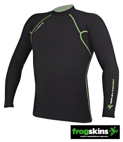 Frogskins Long Sleeve Paddling Top - Men