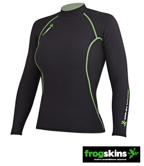Frogskins Long Sleeve Paddling Top - Women