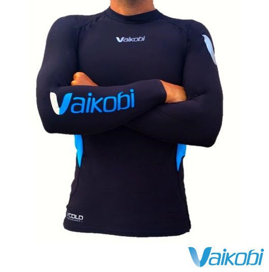 2017 Vaikobi Long sleeve V Cold Base Layer Top Unisex
