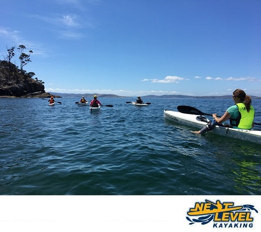 Next Level Kayaking's Women on Water Coaching Hobart Tasmania