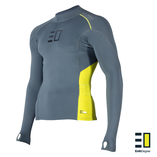 Enth Degree Bombora Long Sleeve Paddling Top Men Next Level Kayaking Hobart Australia Tasmania High Visibility panels