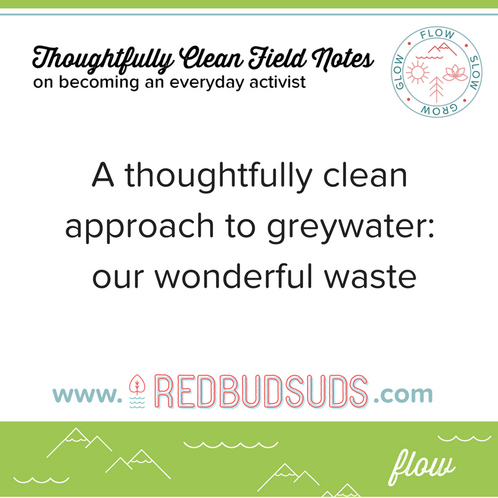 Can we compost our greywater?