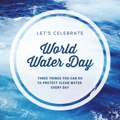 Take Action on World Water Day