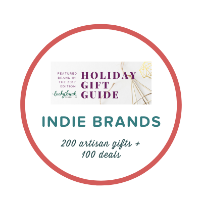 Lucky Break Gift Guide to Indie Brands