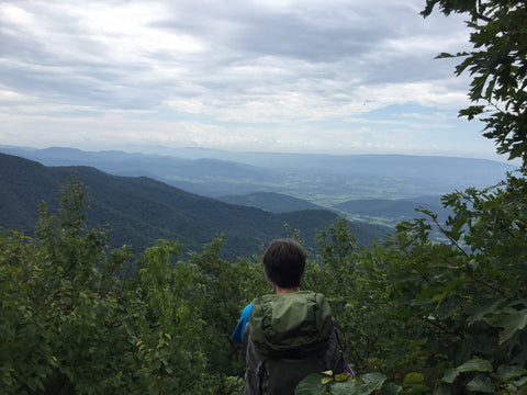 My Mom and the Blue Ridge Mountains