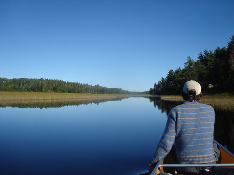 Clinton in the Boundary Waters