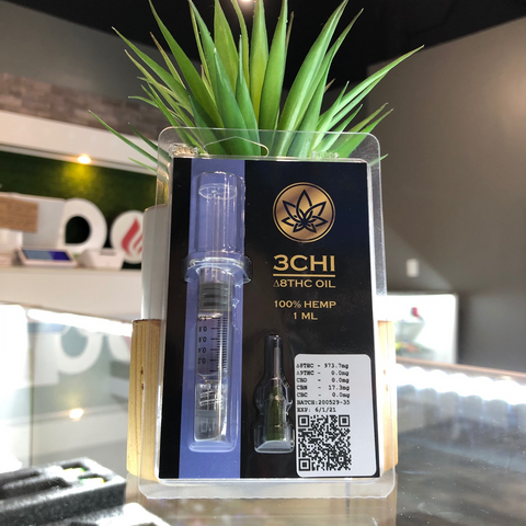 3CHI delta 8 thc concentrates/wax/syringe distillate