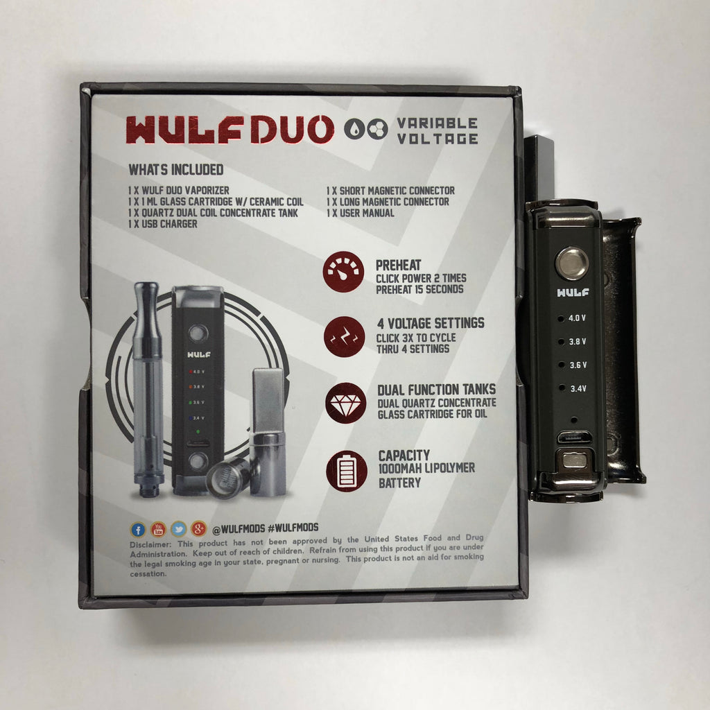 Wulf Duo Variable Voltage