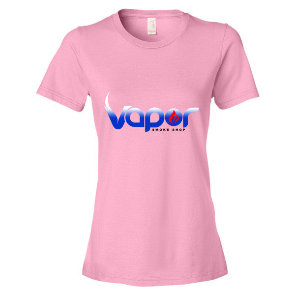 Women's short sleeve t-shirt - Vapor smoke shop  - 8