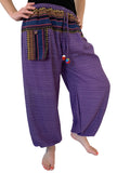 Aladdin Pant Straight Leg - Purple