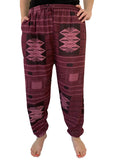 Straight Tribal Pant - Purple