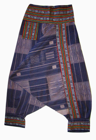 Tribal Fisherman Pant - Navy