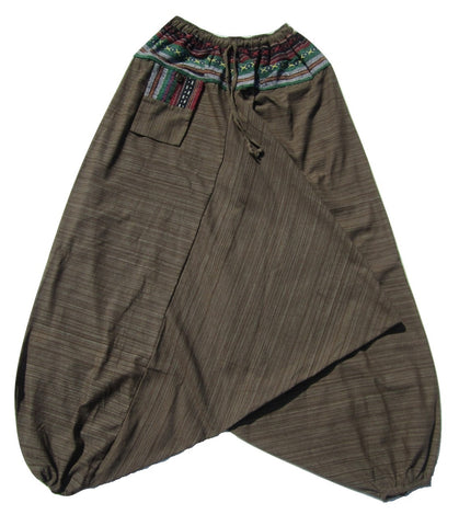 Aladdin Pant - Brown, Large