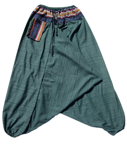 Aladdin Pant - Green, Large