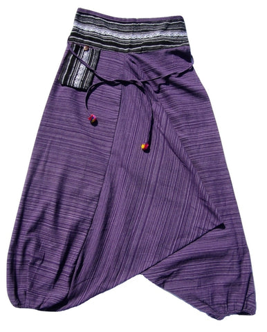 Aladdin Pant - Purple, Medium