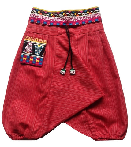 Kids Aladdin Pant - Red