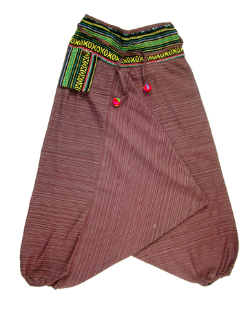 Aladdin Pant - Brown, Medium