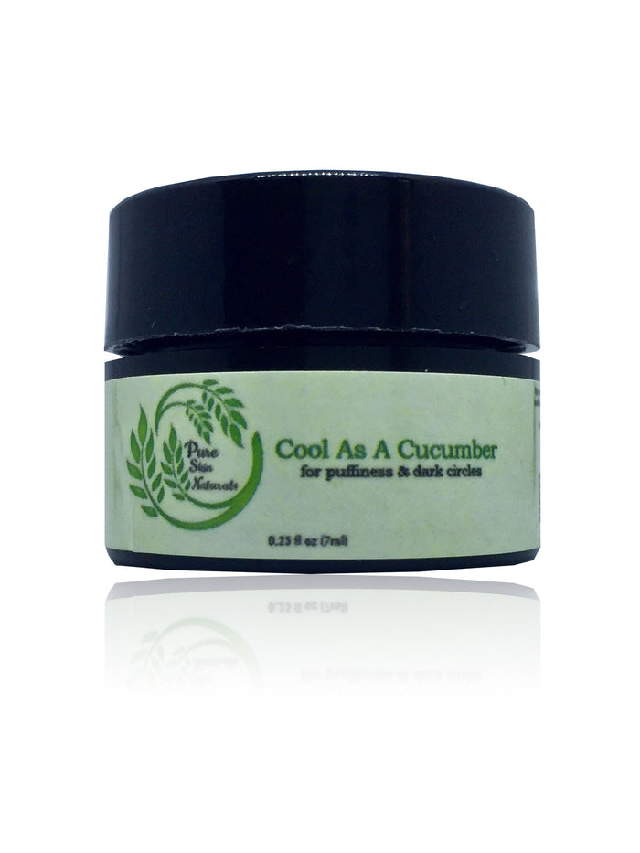 Cool As A Cucumber Eye Gel  algae based eye gel for puffiness and dark circles