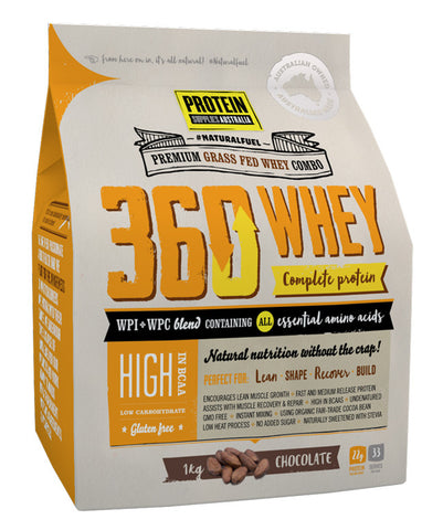 360Whey by Protein Supplies Australia