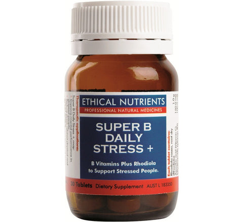 Ethical Nutrients - Super B Daily Stress +