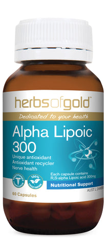 Herbs of Gold - Alpha Lipoic 300