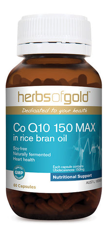Herbs of Gold - Co Q10 150 Max