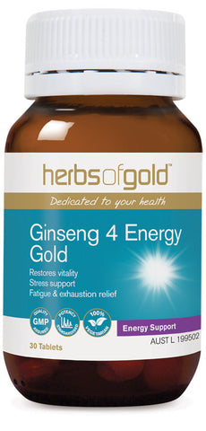 Herbs of Gold - Ginseng 4 Energy Gold