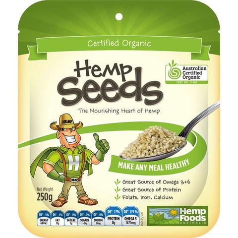 Hemp Foods - Organic Hulled Hemp Seeds