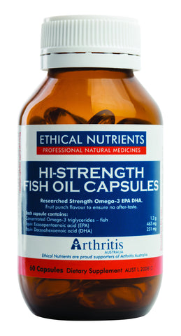 Ethical Nutrients - Hi-Strength Fish Oil