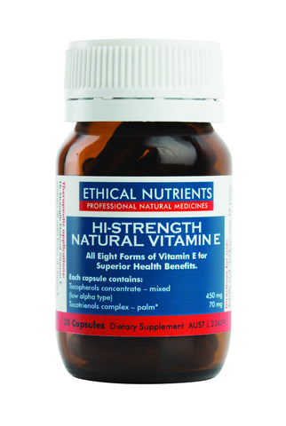 Ethical Nutrients - Hi-Strength Natural Vitamin E