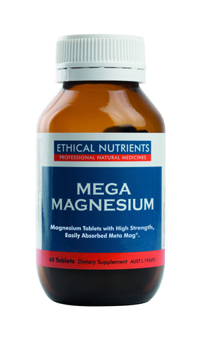 Ethical Nutrients - Mega Magnesium Tablets