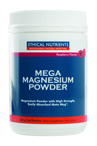 Ethical Nutrients - Mega Magnesium Powder (Raspberry)