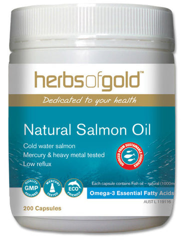 Herbs of Gold - Natural Salmon Oil