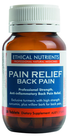 Ethical Nutrients - Pain Relief - Back Pain